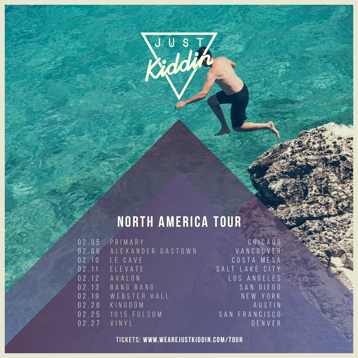 Just Kiddin Announce North America Tour & Free Download
