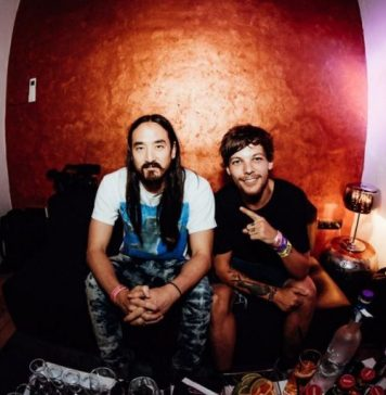 Steve Aoki and Louis Tomlinson - Just Hold On