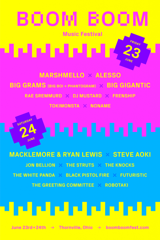 Boom Boom Fest Lineup