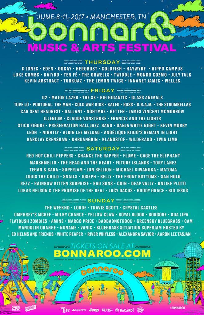 Bonnaroo 2017 Lineup